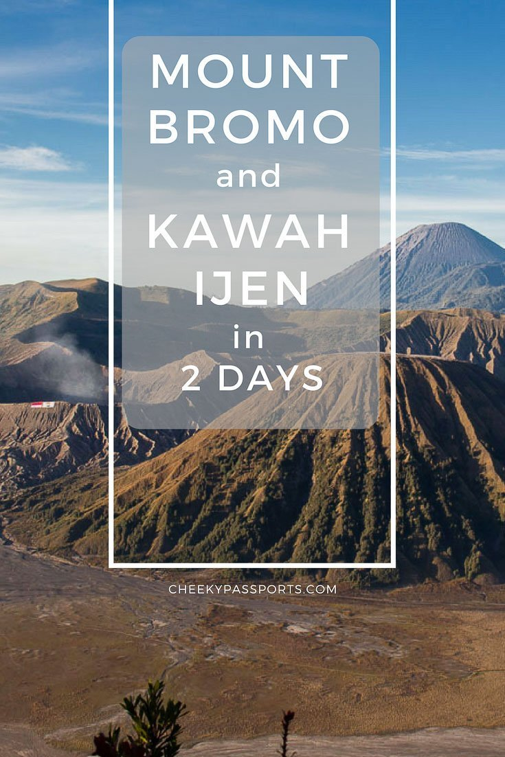 Mount Bromo Sunrise and Kawah Ijen Blue Flames in 2 days (without a tour)