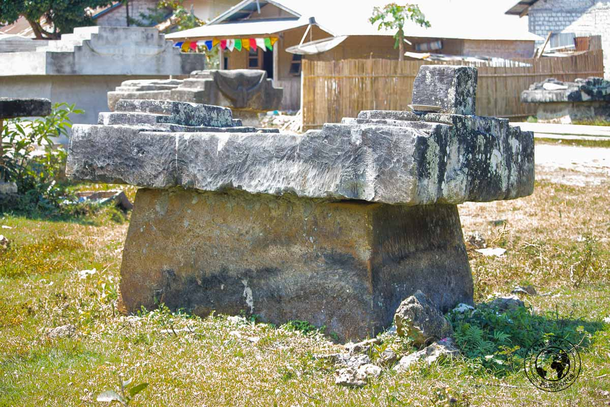 Sumbanese famous memorial tombstones -Things to do on Sumba Island Indonesia