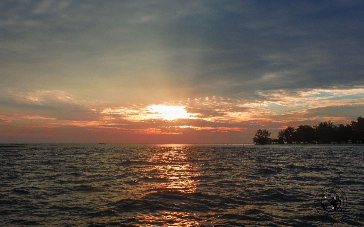 Sunset in Karimunjawa - Karimunjawa Islands Travel Guide and Information