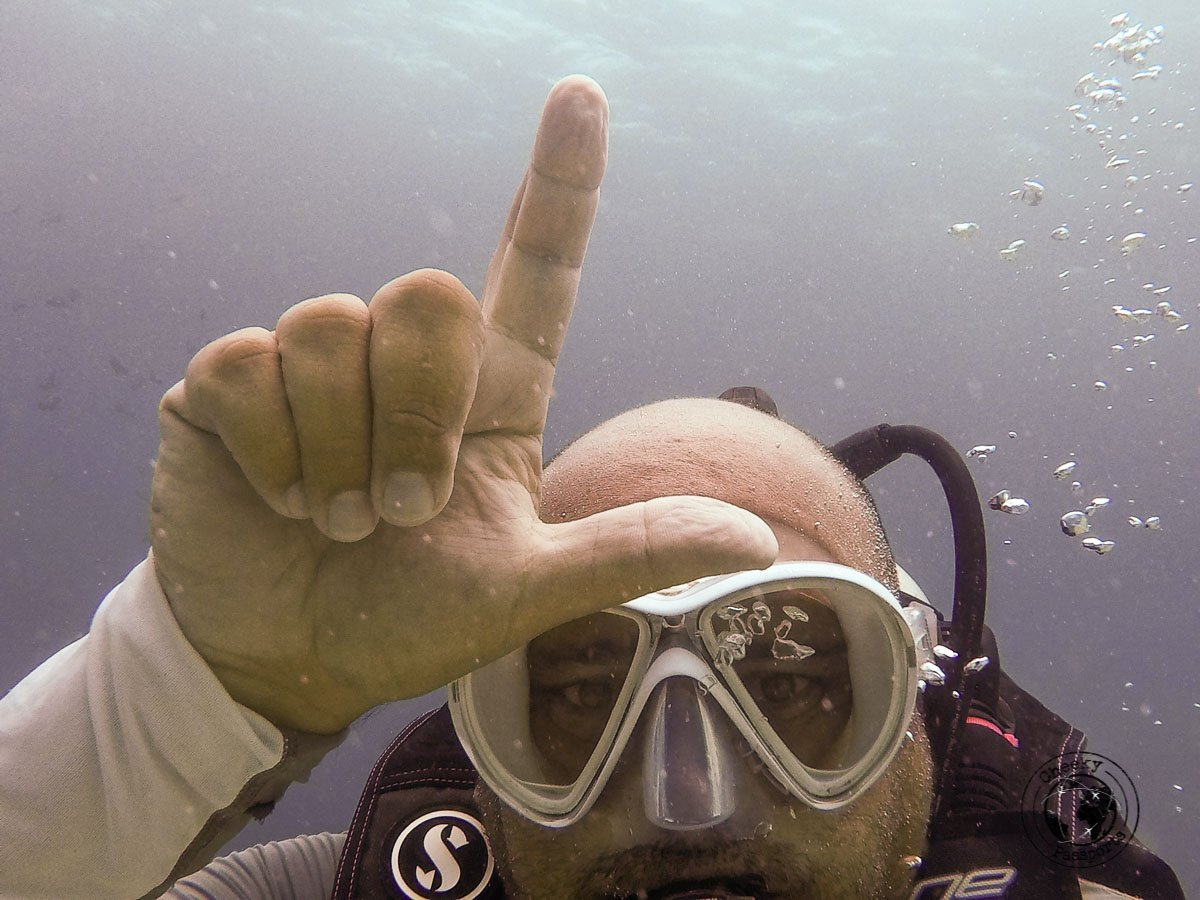 The diving symbol for Low blood Sugar - Diving with Diabetes