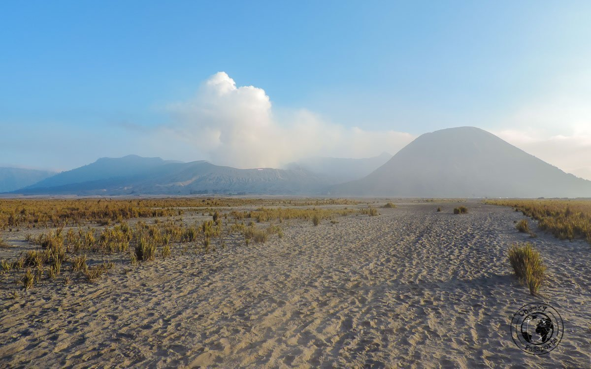 The path at Sea of Sand - Mount Bromo Sunrise and Kawah Ijen Blue Flames in 2 days (without a tour)