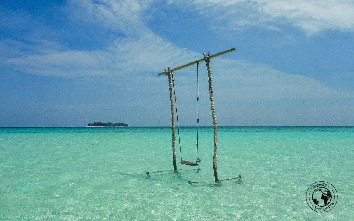 The swing - All about traveling to Karimunjawa Island in Java Indonesia