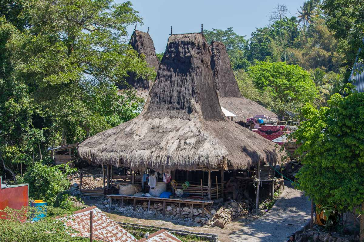 Traditional Sumba huts - Things to do on Sumba Island Indonesia