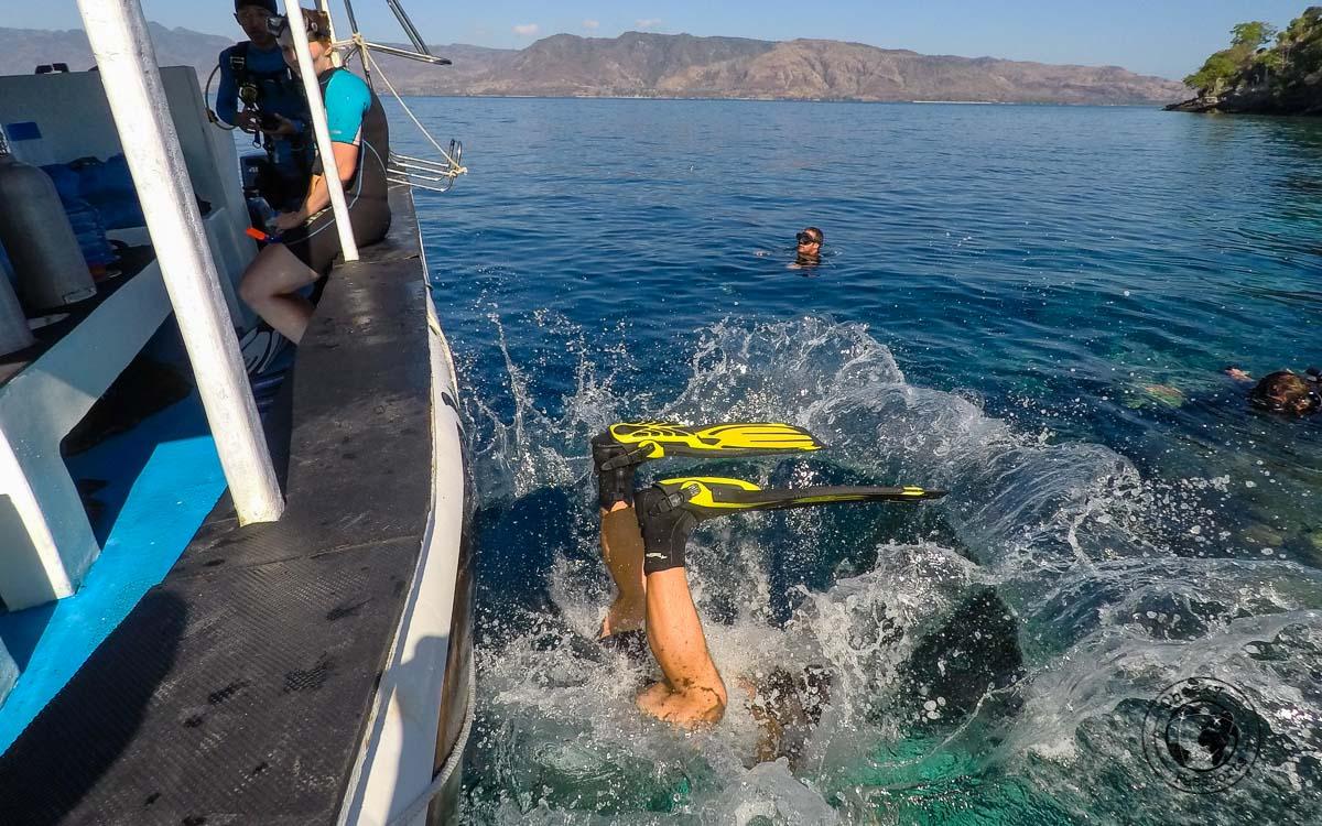 Nikki off for some Alor island diving
