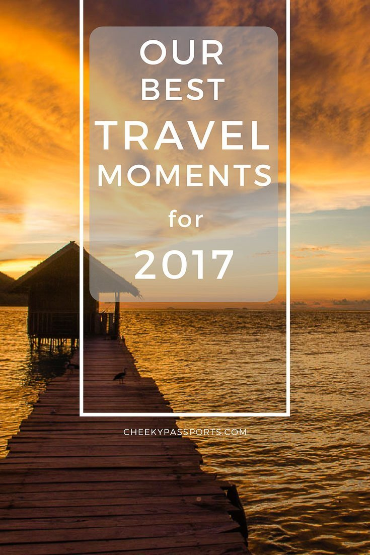 2017 has certainly been an exciting travel year for us! We left home to start traveling full-time in March and haven't looked back since, so we're putting together a post about our best travel moments this year! Take a look at what 2017 has been like for us!