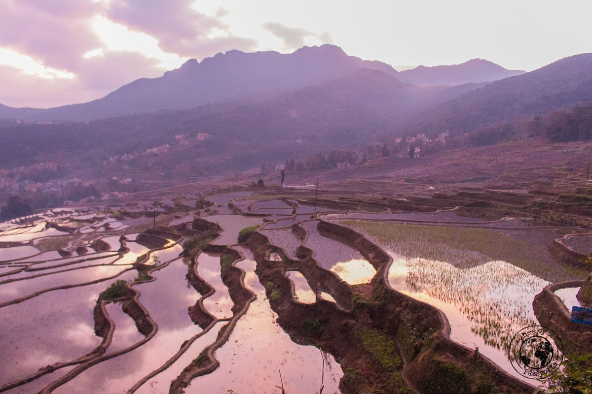 Sunrise over the YuanYang rice terraces - Our Best Travel Moments this year 2017