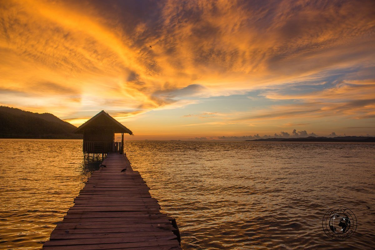 Sunset over Kri Island, Raja Ampat, Papua - Our Best Travel Moments this year 2017