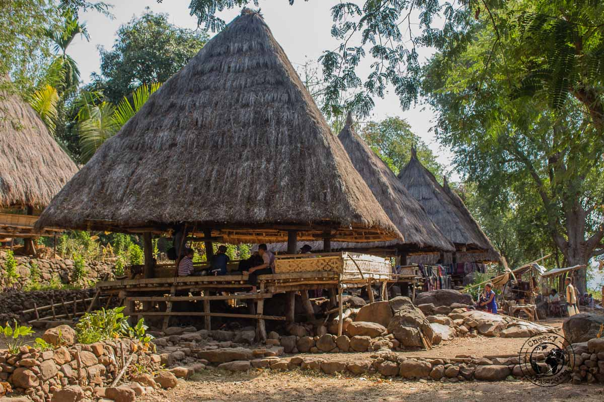 Takpala Traditional Village house - All About Alor Island, Indonesia