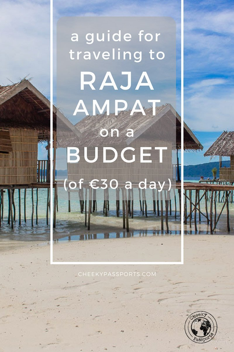 A Guide for Traveling to Raja Ampat on a budget - Remote places in Indonesia are less affordable than the more mainstream islands. Traveling to Raja Ampat on a budget requires some thorough planning and research, but don't despair, as we made a list of the best hacks for traveling in Raja Ampat on a shoestring (if you can call €30 per day so)! Curious? Read on! #rajaampat #wonderfulindonesia #budgettravel #travelguide