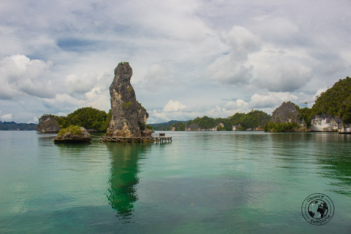 A boat trip round Raja Ampat is one of the rcommended activities for Raja Ampat