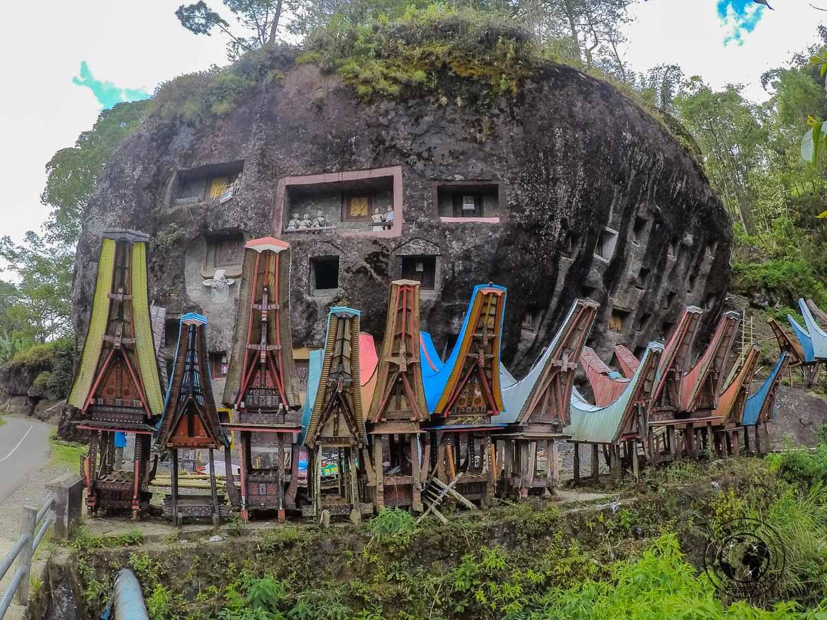 Loko'Mata Burial Site in Tana Toraja, Indonesia