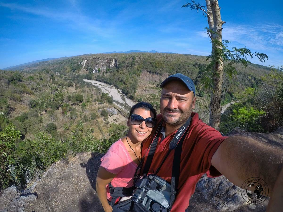 Nikki and Michelle in the outskirts of Soe whilst exploring. West timor travel, indonesia