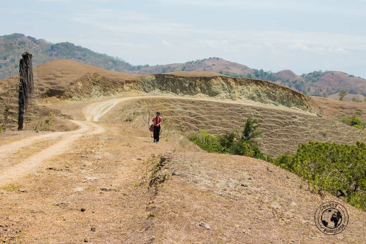 Exploring Indonesia - On our way to tamkesi village whilst exploring west timor, indonesia