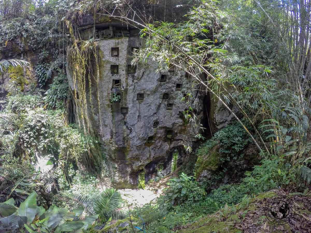 Pana Graves in Tana Toraja, Indonesia