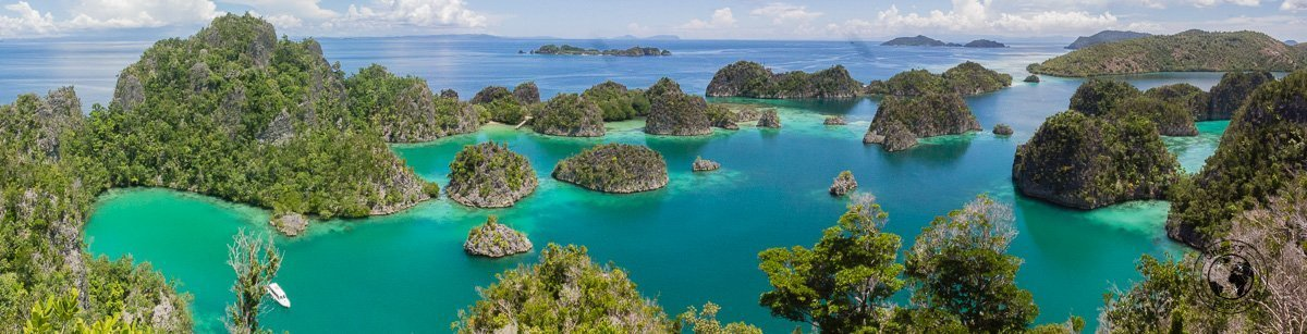 Pianemo Viewpoint - Raja Ampat on a budget - travel expenses in Indonesia