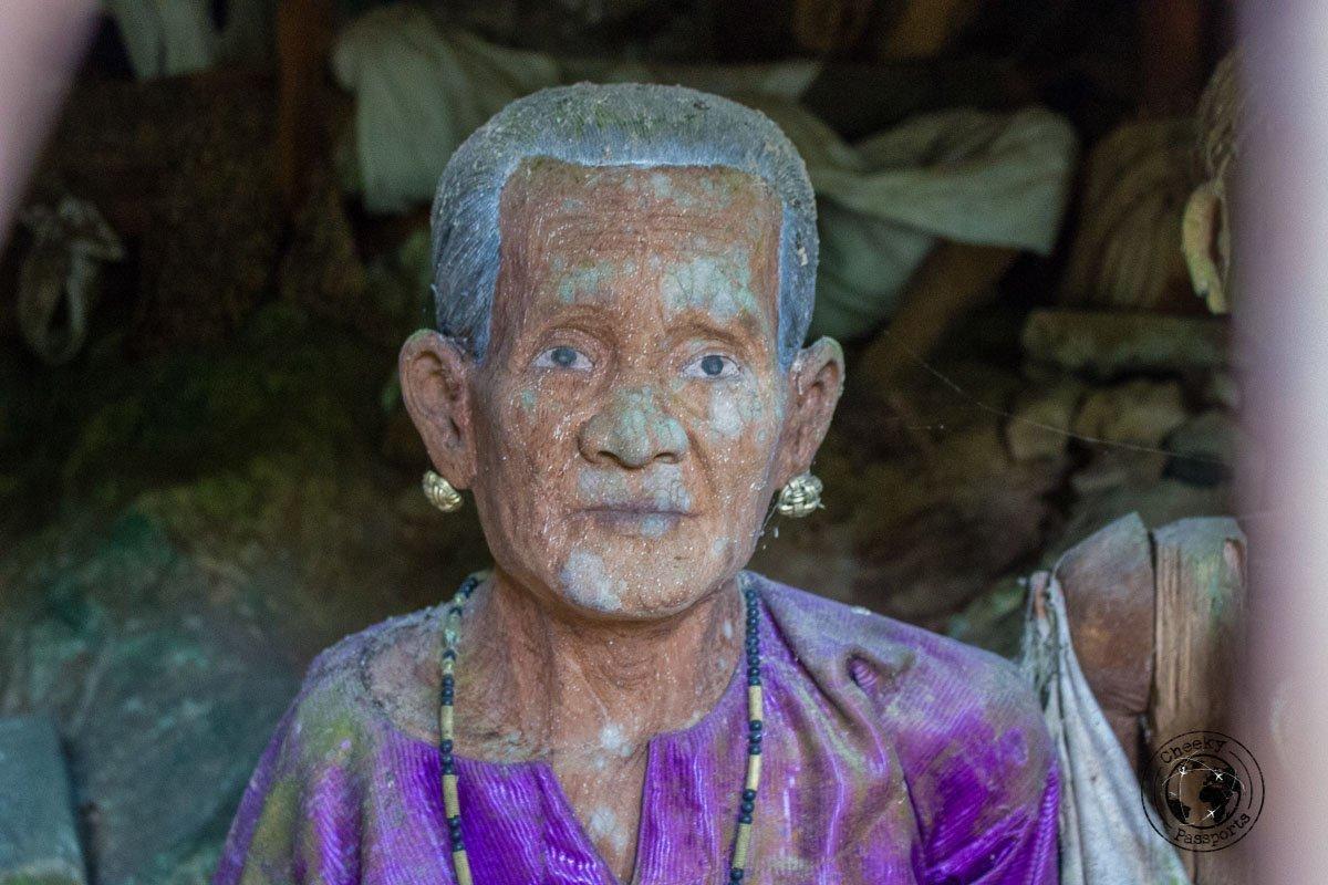 The detail of the Tau Tau can be very accurate in Tana Toraja, Indonesia