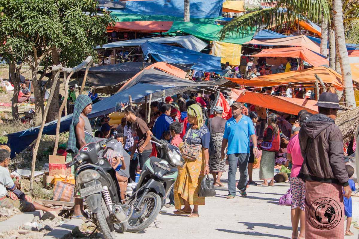 The market at Desa Nusa
