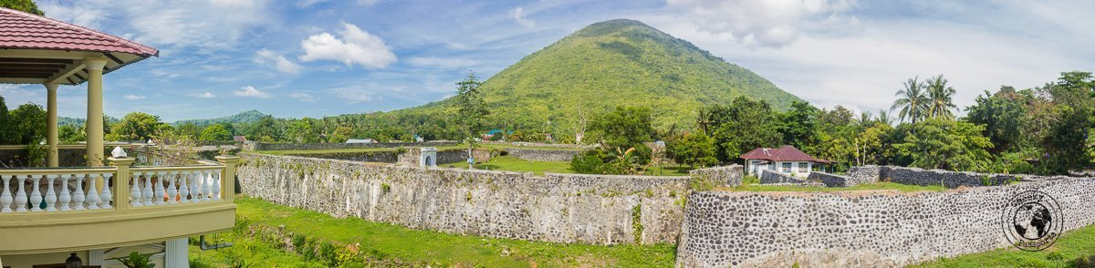 The view from the Cilu Bintang Estate in Bandaneira, Spicing it up at the Banda Islands Maluku Indonesia