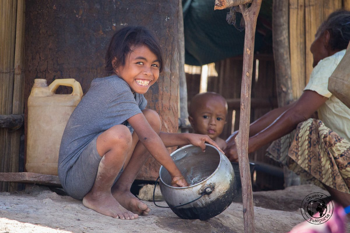 The villagers of West Timor leading a poor but simple life. Quite an experience whilst visiting west timor and exploring indonesia