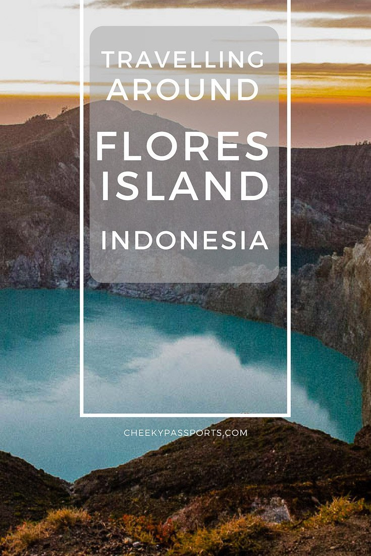 Travelling around Flores Island, Indonesia, home to mount Kelimutu