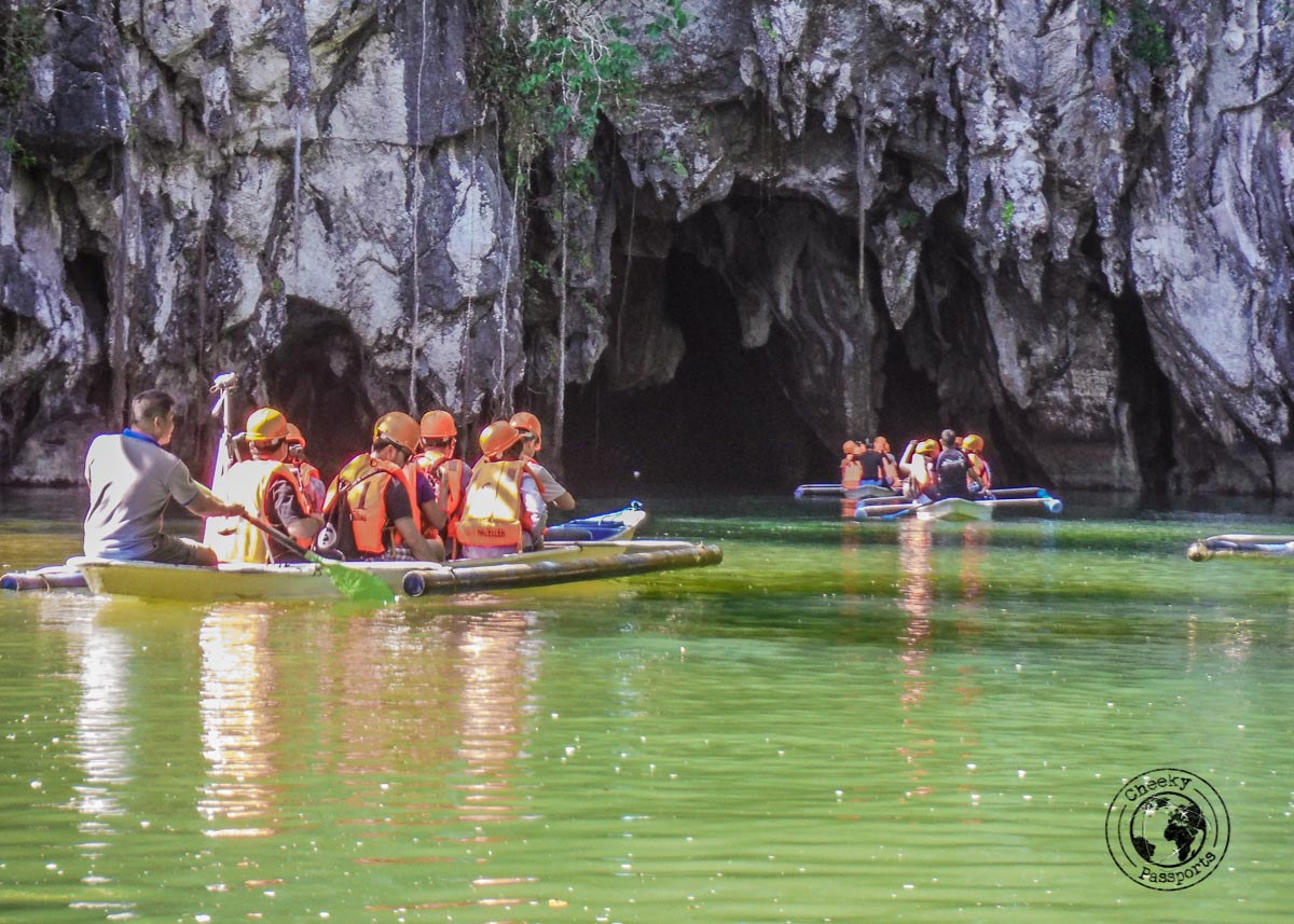 bankas upon entry to the Puerto Princesa Underground River