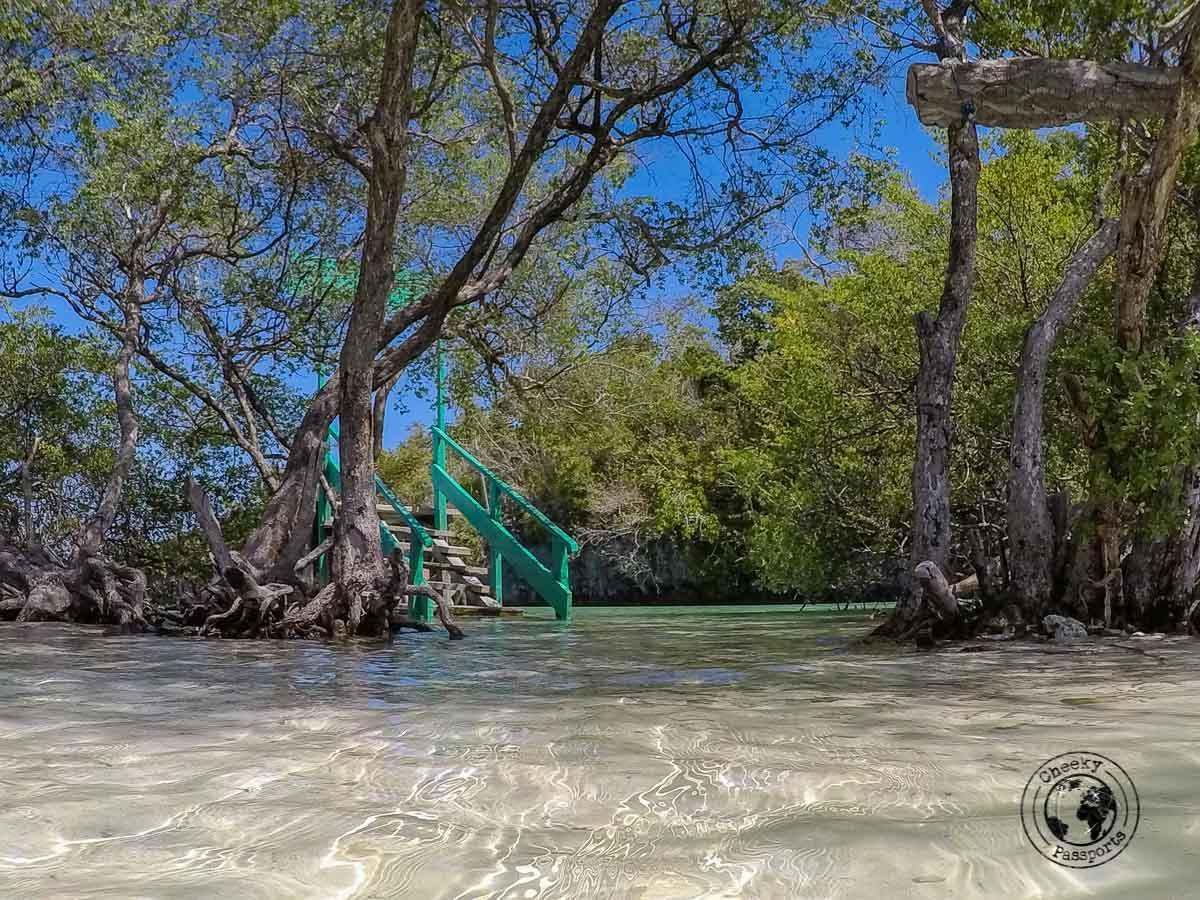 Bair islands known as the mini-raja ampat of the kei islands