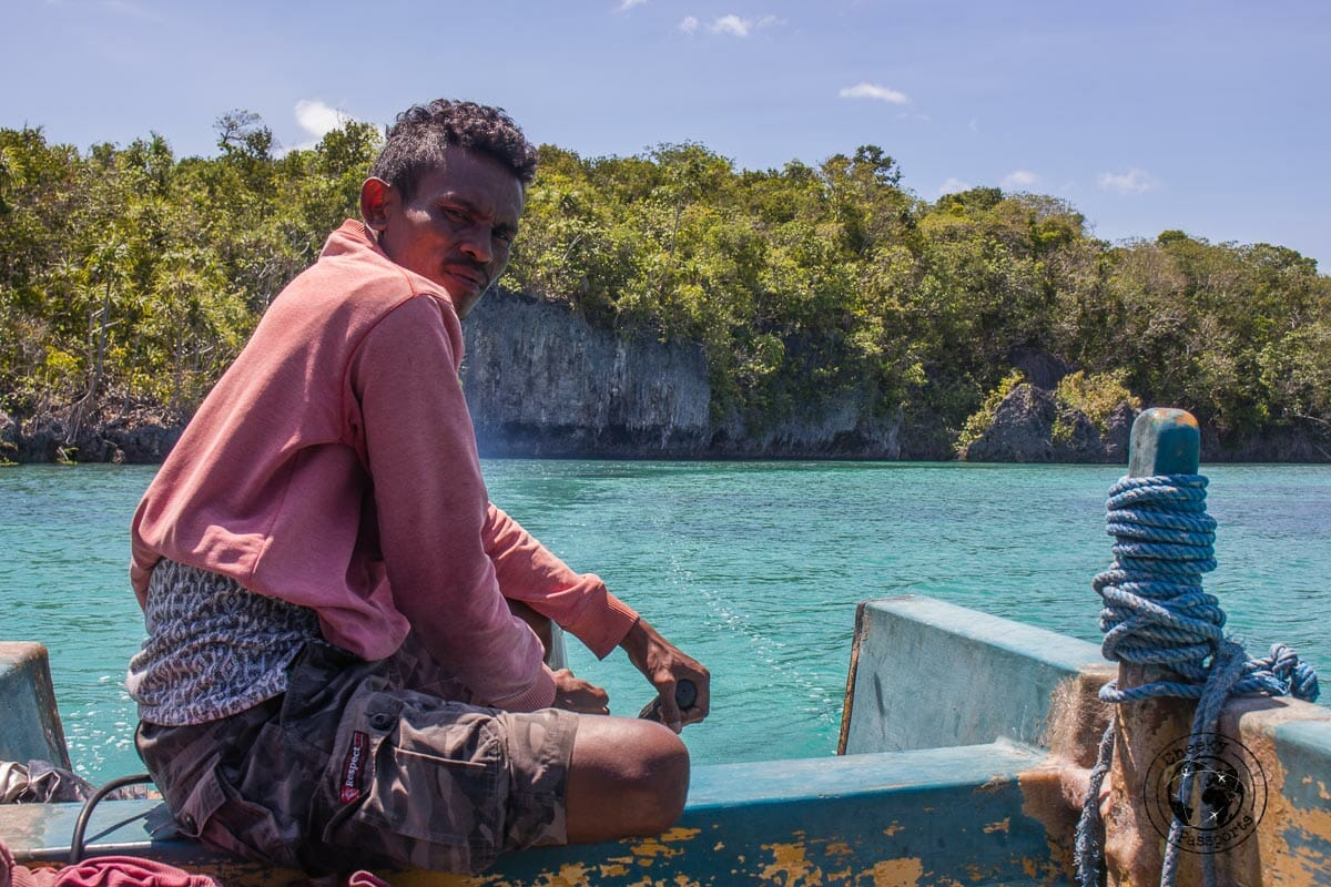 Boating about Bair island