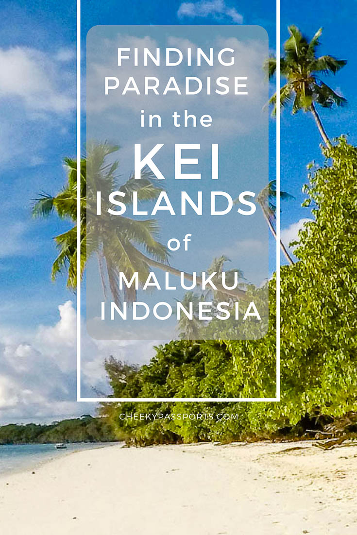 Finding Paradise in the Kei Islands of Maluku - If you're looking for Indonesia's most beautiful pristine white-sand beaches, look no further…. we can easily tell you that they're on the Kei Islands of Maluku! Kilometres of the most beautiful whitest beaches line some of the bluest waters you will ever see. Read on to find out about this great discovery! #wonderfulindonesia #maluku #offthebeatentrack #indonesia #undiscovered