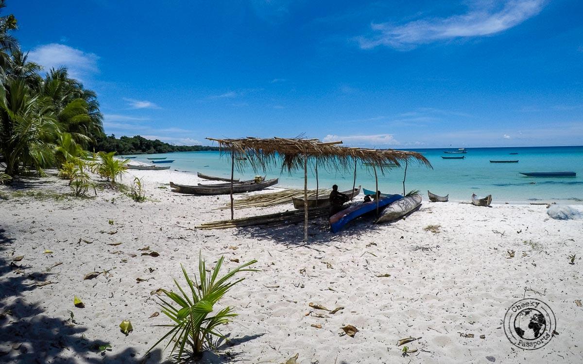 The beaches of the kei islands
