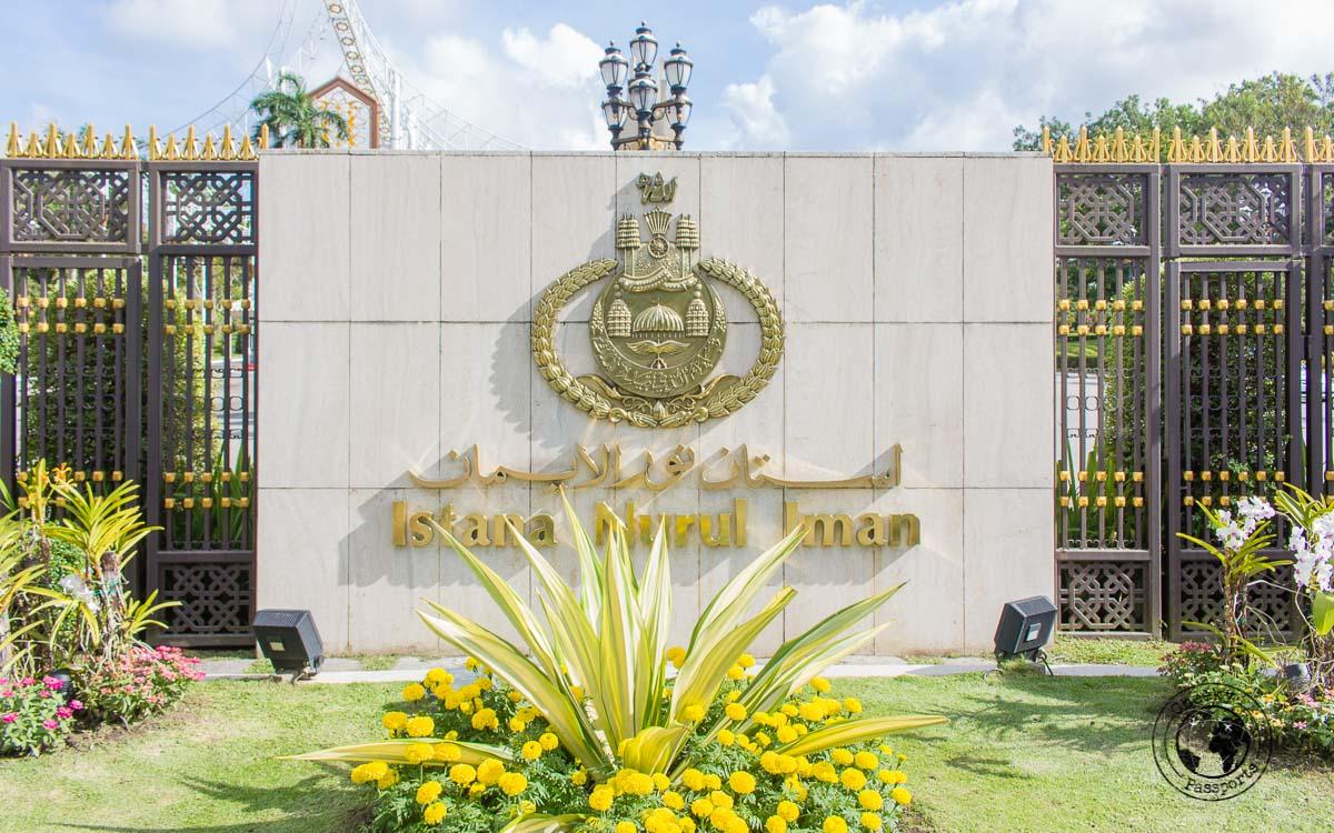 Istana Nurul Iman - tourist spots in Brunei