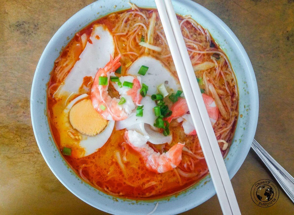Laksa for Breakfast - tourist spots in Brunei