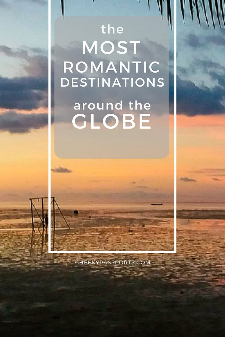 Most Romantic Destinations around the Globe by Travel Bloggers - Romantic settings and experiences are subject to one's character and disposition. Are you looking for a romantic getaway? We've got you covered! We've asked 32 travel bloggers to share their favorite romantic destinations, and we've included them all in this one giant post! Read on and plan ahead! #romantic #destinations #travel #romanticplaces #honeymoon #valentines