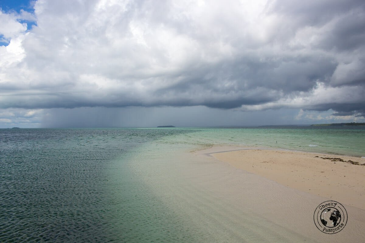 Ngurtafur Sandbar off the coast of Kei Kecil