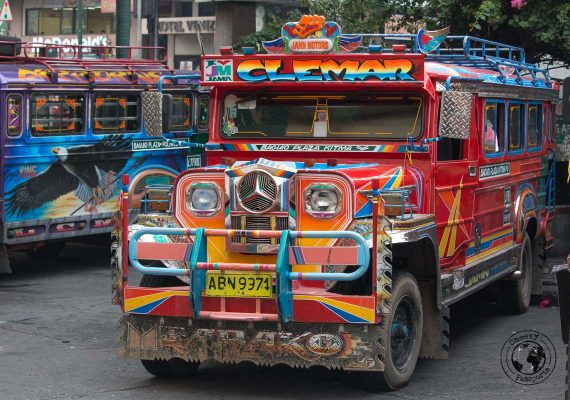 The Jeepney in Baguio - How to get to San Fernando la Union from Manila