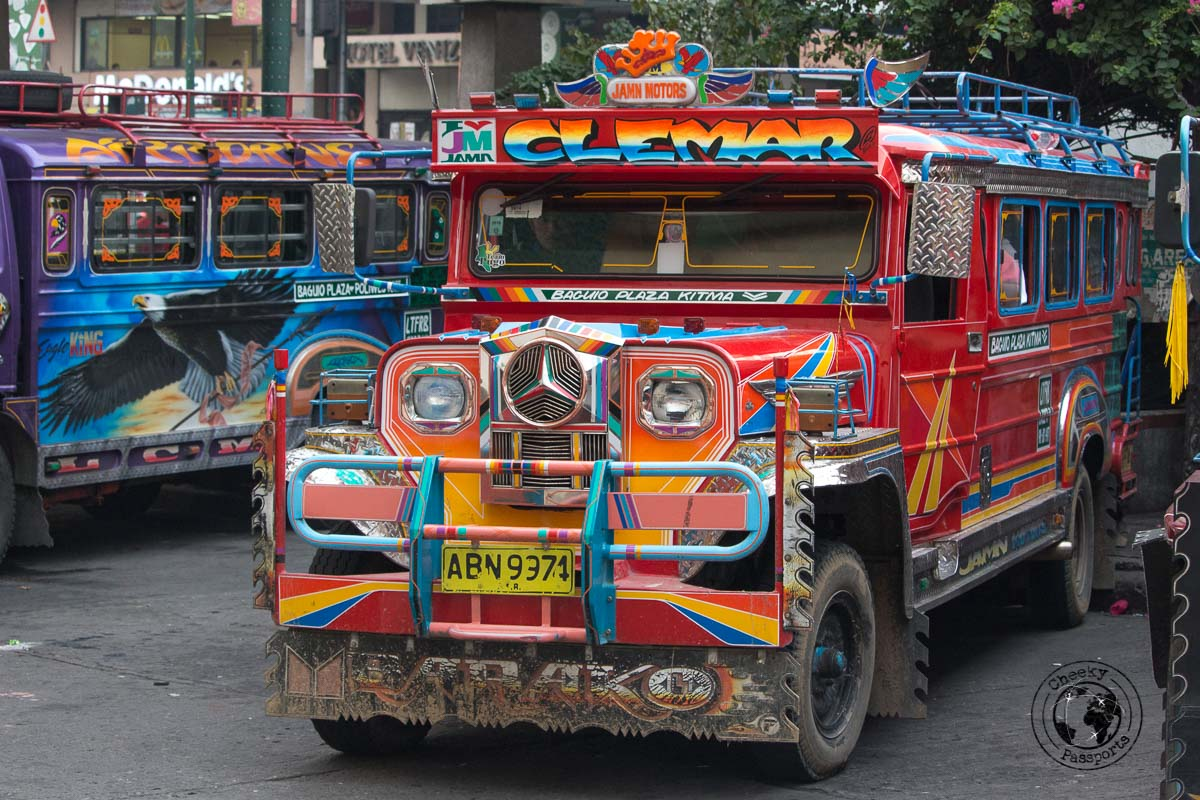 The Jeepney in Baguio - How to get from Manila to la Union in San Fernando