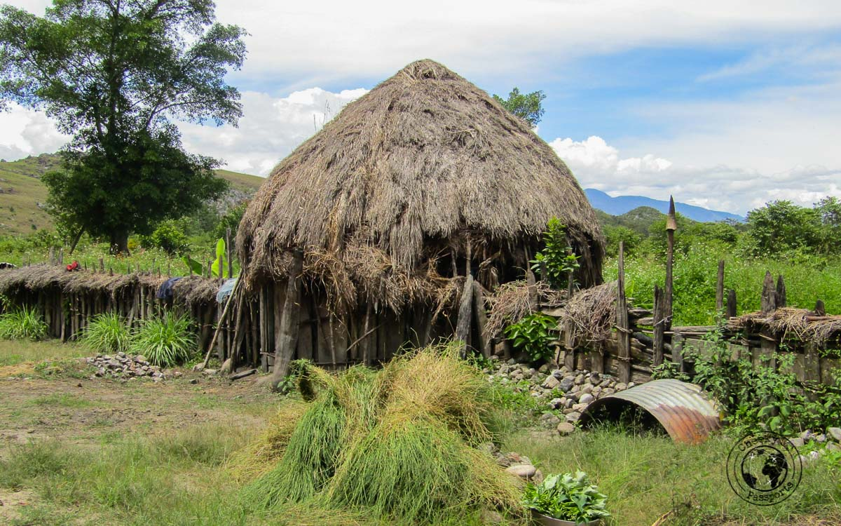 Traditional dwelling at the Baliem valley