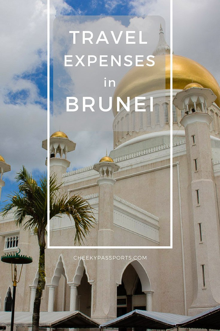 Travel Expenses in Brunei - Although Brunei is located in Southeast Asia, it is not a backpacker destination as so many of the other neighbouring countries are, and travel expenses in Brunei will vary significantly when compared with the costs of traveling in other countries. Read more to see a breakdown of costs during our short stay. #brunei #budgettravel #tourism