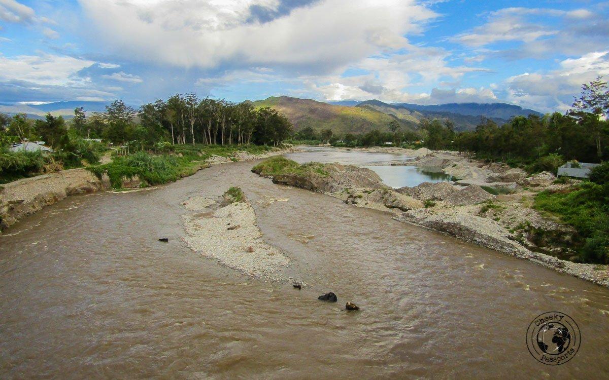 Views of the valley near Wamena