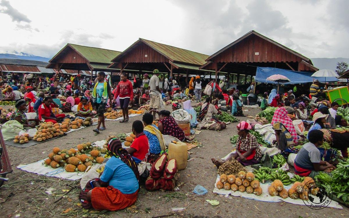 Wamena East Market