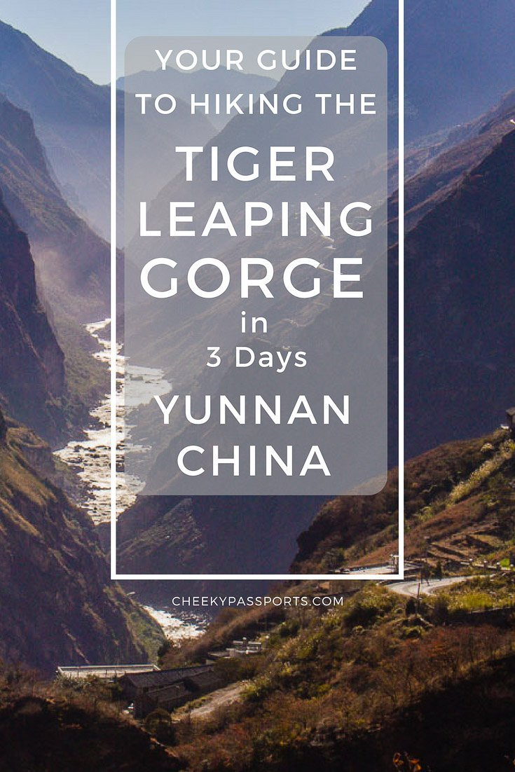 Hiking the Tiger Leaping Gorge trek is one of the more popular hikes in China mainly due to the spectacular views to be had along the moderately-difficult trek. You don't need to be incredibly fit to hike the route, which renders the route more appealing, even if hiking has not featured on your agenda for a while. Interested? - Your Guide to Hiking the Tiger Leaping Gorge, Yunnan China, in 3 days #china #yunnan #tigerleapinggorge #travel