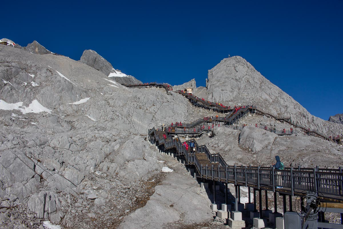 The Glacier Park at the Jade Dragon Snow Mountain