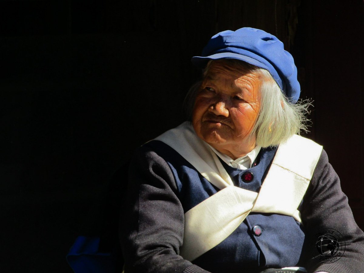 A Lijiang local - Lijiang attractions, Yunnan, China