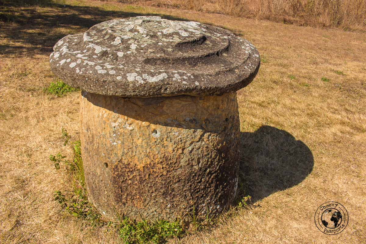 A rare covered jar - How to visit the Plain of Jars from Luang Prabang