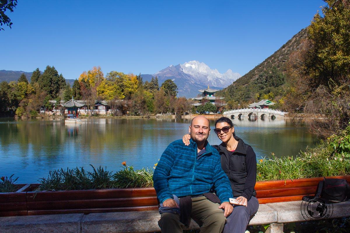 Black Dragon Pond - Lijiang attractions, Yunnan, China
