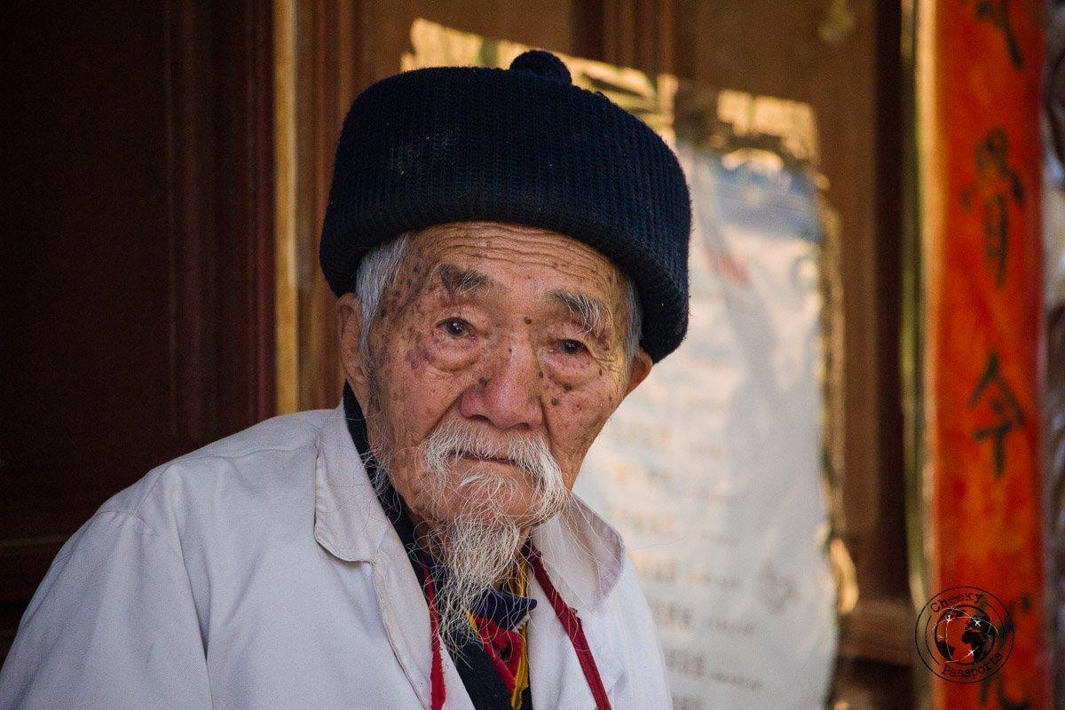 Dr. Ho in Baisha- Lijiang attractions, Yunnan, China