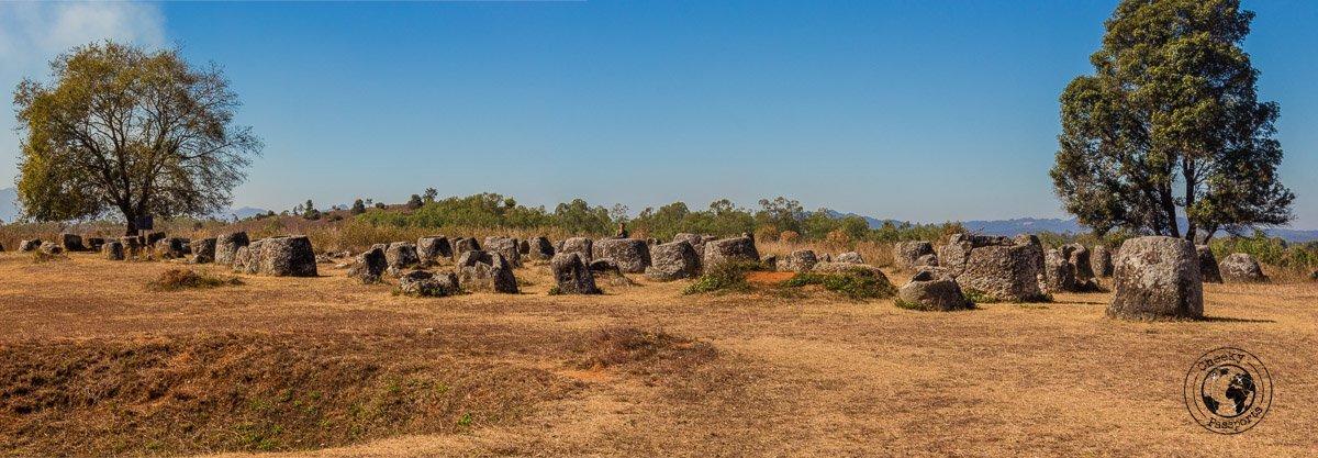 Site 1 of the Plain of Jars in Laos - Plain of Jars from Luang Prabang