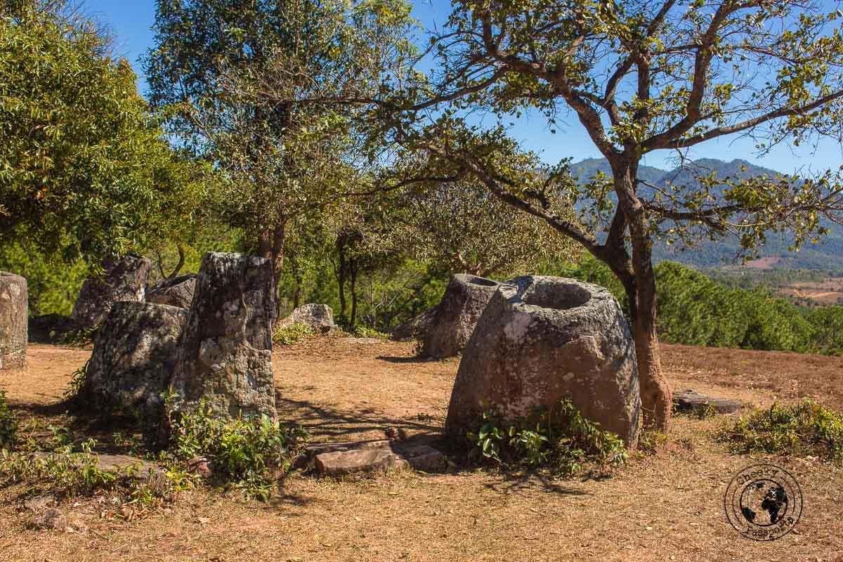 Site 2 Plain of Jars in Phonsavan - How to visit the Plain of Jars in Laos