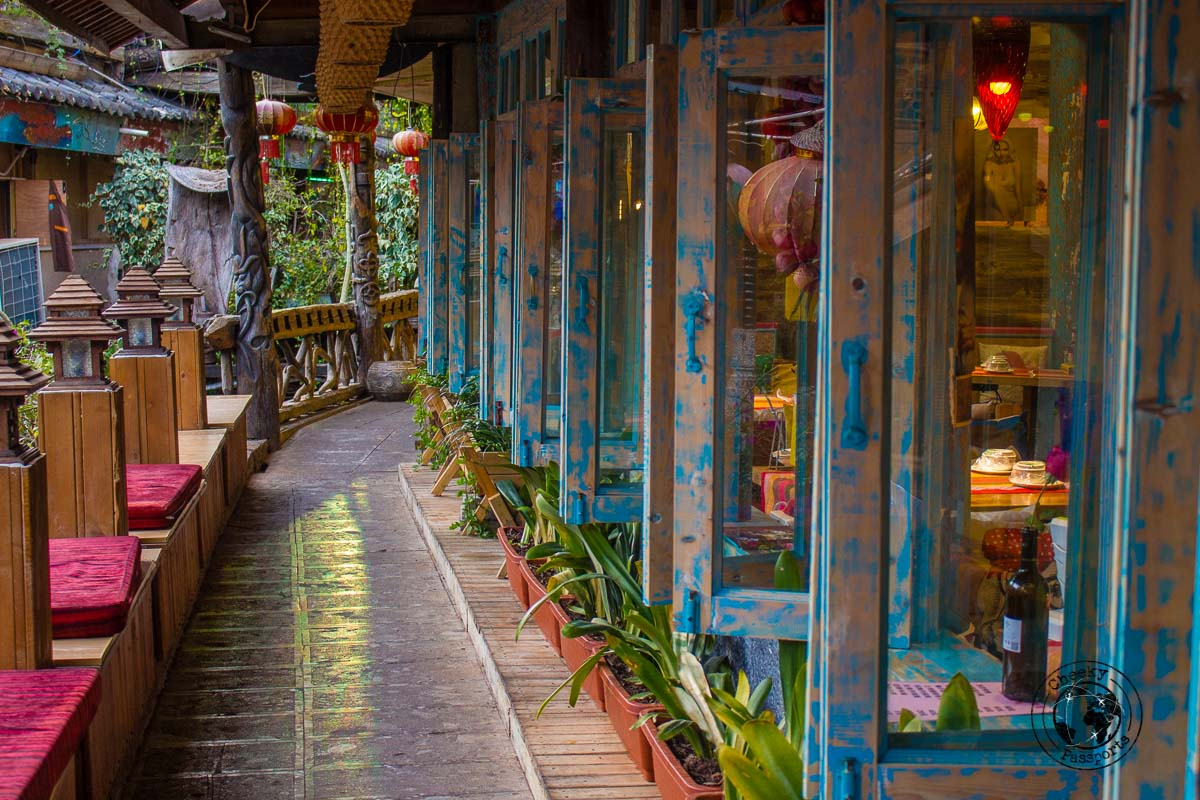 Streets of Lijiang - Lijiang attractions, Yunnan, China