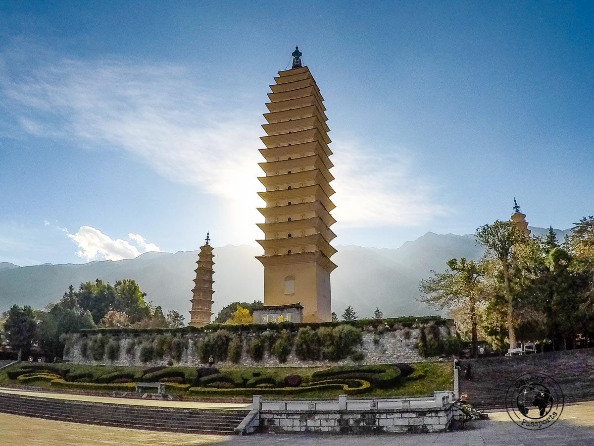 The Three Pagodas, Dali, China
