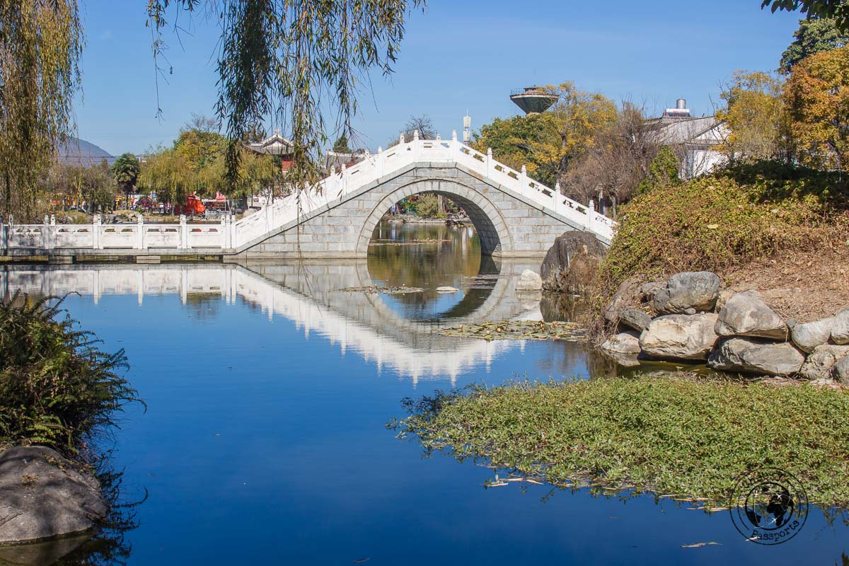 Xizhou bridge to the old town - Yunnan Travel - A two-week Itinerary for Yunnan